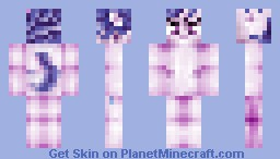 Rarity from My Little Pony Minecraft Skin