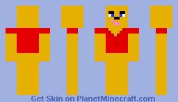 Winnie the Poo Minecraft Skin