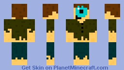 Cyclopes Peasant Minecraft Skin