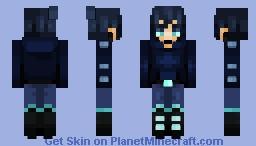 Palette contest prize: Congrats on winning! Minecraft Skin