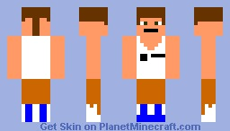 chell from portal Minecraft Skin