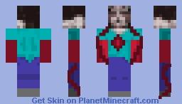 Possessed Steve Minecraft Skin