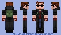 Postal 1 (Redux) - Dude Minecraft Skin