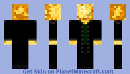potato in a tuxeo Minecraft