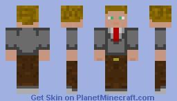 Office Suit Minecraft Skin