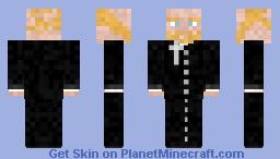 Traditional Priest Minecraft Skin