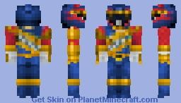 Power Rangers Dino Charge: Heckyl (Dark Talon Ranger) [Comics] Minecraft Skin
