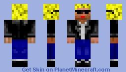 Cool Guy. Minecraft Skin