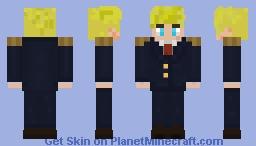 President Tommyinnit Minecraft Skin