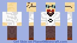 Professor Elvin Gadd Minecraft Skin