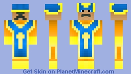 Priest DQ3 Minecraft Skin