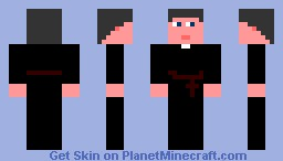 The Priest Minecraft Skin