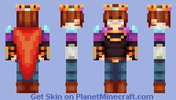 * . ~ prince raglan ~ . * Minecraft Skin