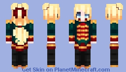 Nutcracker Princess Minecraft Skin