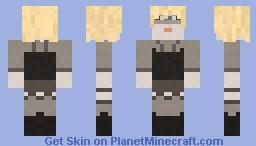 Pris - Blade Runner Minecraft Skin
