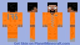 hardcore prisoner Minecraft Skin