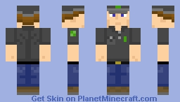 Funiversian Production Worker Minecraft Skin