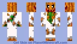 proffesser pumkin Minecraft Skin