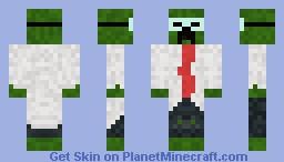 professor creep. Minecraft Skin