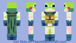 Frog Knight Minecraft Skin