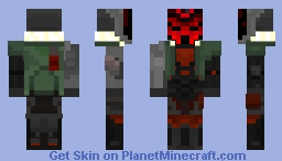 Project Jhin - League of Legends Minecraft Skin