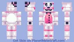 Prototype Funtime Freddy - FNaF: Sister Location Minecraft Skin