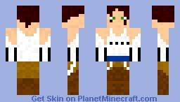 Chell (portal) Minecraft Skin