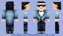 Psy - Gangnam Style   [Update 24/11/2013] Minecraft Skin