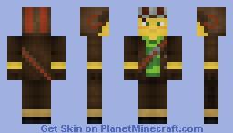 Razputin (Psychonauts) Minecraft Skin
