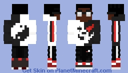 Monokuma Fit Minecraft Skin