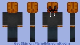 Haunted Pumpkin   Best Community Skins Oct. 2019 Minecraft Skin