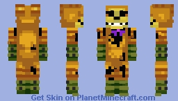 The Walten Files - Pumpkin Rabbit Minecraft Skin