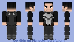 Frank Castle [The Punisher (Netflix)] Minecraft Skin