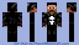 The Punisher  [ Marve l] Minecraft Skin