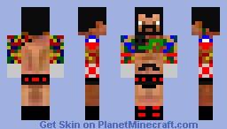 cm punk Minecraft Skin