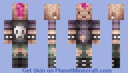 Punker Minecraft Skin