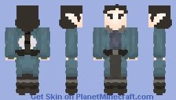 Blue-Coated Elf Adventurer   Commission Minecraft Skin