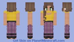 Cirilla Privete and the Purple Dress (Don't use on MassiveCraft) Minecraft Skin