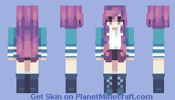 Purple n Blue - Remake Minecraft Skin