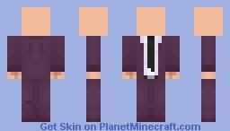 Purple suit Minecraft Skin