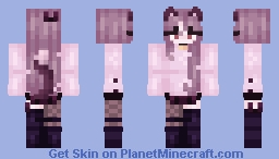 CAT GIRLS ARE RUINING MY LIFE! Minecraft Skin