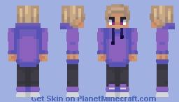 Purpled (Fanskin) Minecraft Skin