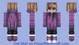 Purpled Minecraft Skin
