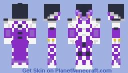 JoJo-Puple Haze Minecraft Skin