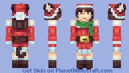 Winter Kitty - Secret Santa for Purrfectionist Minecraft Skin