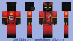[TF2] The Infernal Imp Minecraft Skin