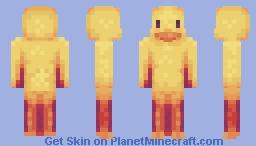 A Wise Quacker Minecraft Skin