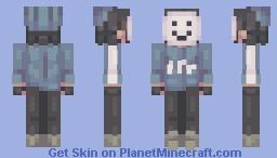 n e c r o m a n c y :) Dream SMP: Quackity Minecraft Skin