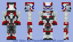 Quantum Suit | MCU | (Time Travel Suit) Minecraft Skin