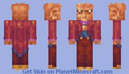 Bartender Quark Star Trek DS9 Minecraft Skin